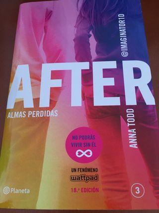 Libros adolescentes Anna Tood nuevos