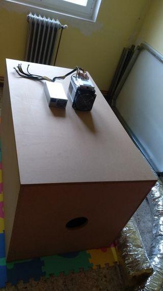Caja tubos aislante extractor y cola insonorizante