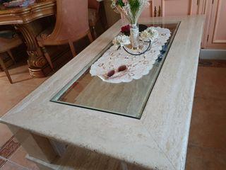 mesa de marmol de 1,50 x 90