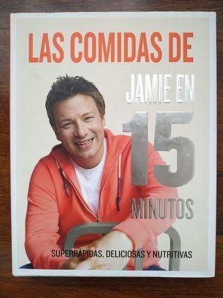Libro de cocina Jamie Oliver