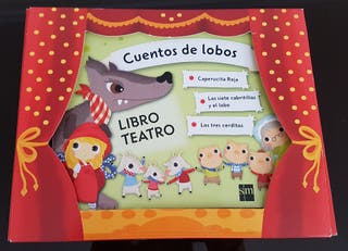 Libro Teatro Cuentos de lobos