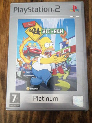 PlayStation 2 The Simpsons