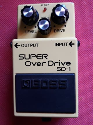 BOSS PEDAL SUPER OVERDRIVE SD-1