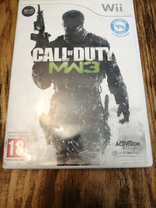 Wii Call of DUTY MW3