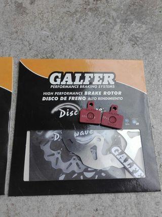 Disco de freno trasero trial Galfer