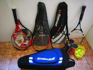 Set de tenis completo