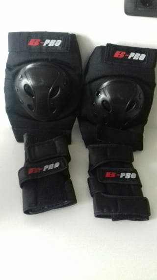 Protecciones patines adulto