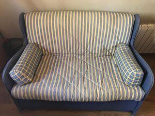 Sofa cama 120x190 somier lamas