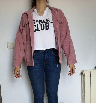 chaqueta pana