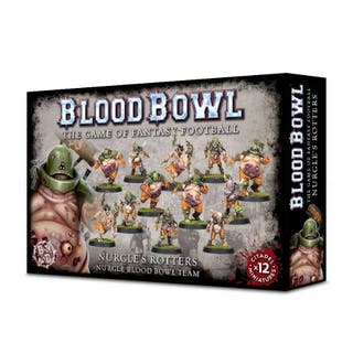 Blood Bowl Chaos Team Nurgles Rotters