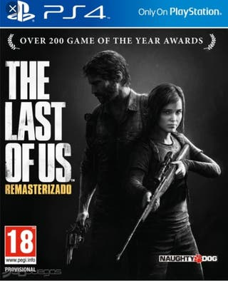 vendo the last of us PS4 nuevo sin uso