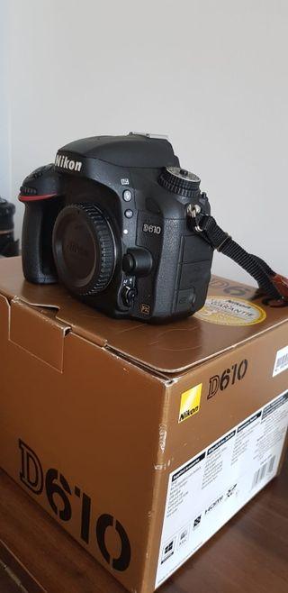 camara de fotos nikon d610