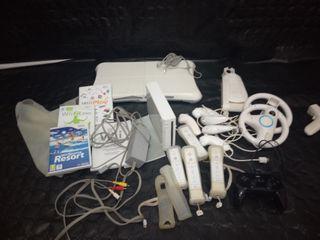 Wii y tabla de deportes muy completa