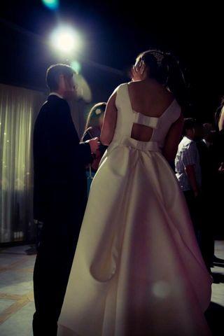 94c105b73 Vestido de novia Rosa Clara de segunda mano en Madrid en WALLAPOP