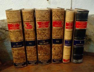 Lote de libros antiguos