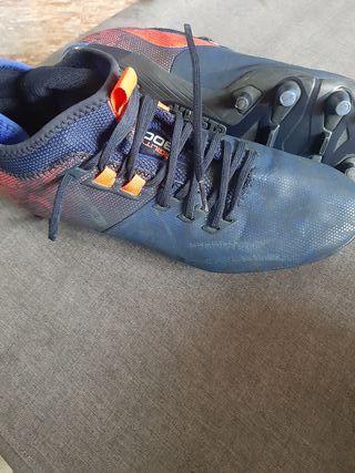 botas de fútbol 1 sólo uso t 41-42
