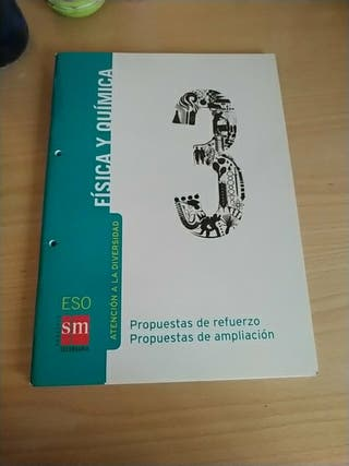 Libro refuerzo Física y Química 3 ESO