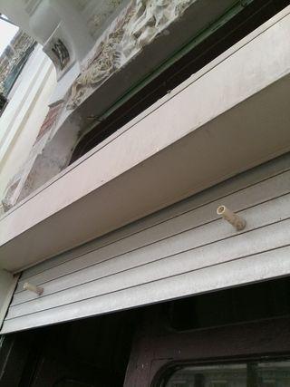 Persianas de PVC de exterior.