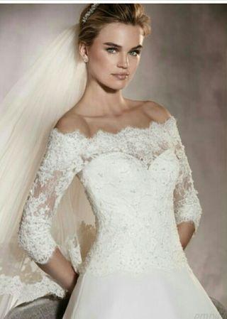 44a39d98f Vestido de novia de segunda mano en Alicante en WALLAPOP