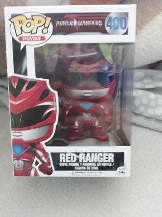 funko power ranger rojo