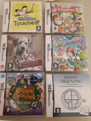 6 Juegos Nintendo DS