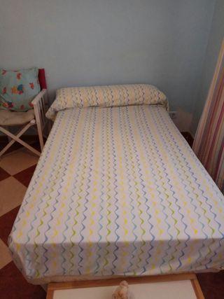 Somier y colchón de 105