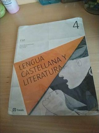 Libro Lengua Castellana y Literatura 4ESO