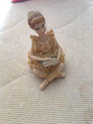 Bailarina de cerámica