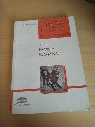 Libro Latín LINGVA LATINA PARS I FAMILIA ROMANA