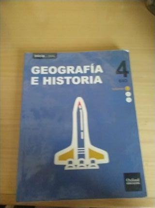 Libros Geografía e Historia 4ESO