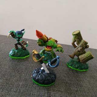 4 Figuras de Skylanders