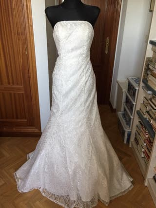 b7f7daa21 Vestido de novia talla 46 de segunda mano en la provincia de Madrid ...