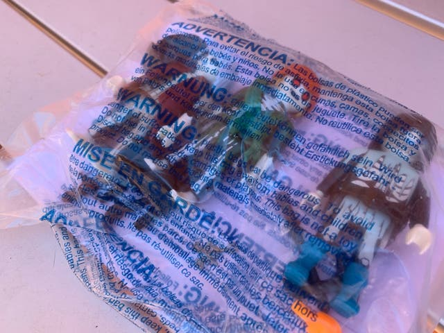 Playmobil piratas fantasma en bolsa precintada