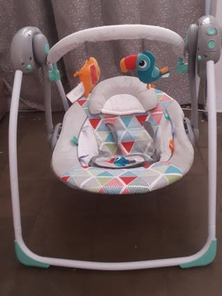 f90bee074 Mecedora de bebé eléctrica de segunda mano en WALLAPOP