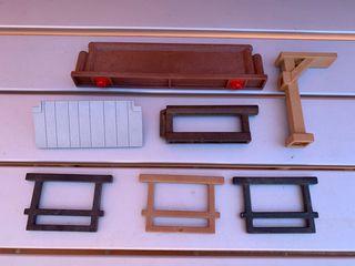 Playmobil piezas casas oeste