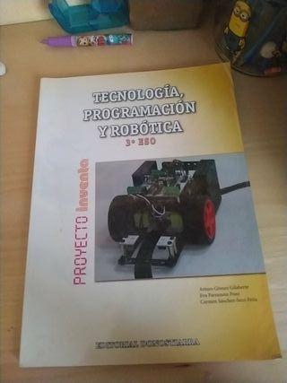 Libro Tecnología, Programación y Robótica 3 ESO