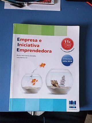 Libro de Empresa e inicativa emprendedora.