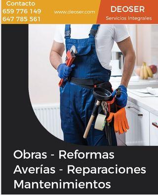Reformas, Reparaciones y mantenimientos