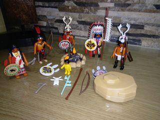 indios playmobil