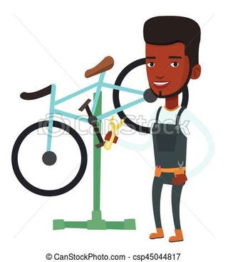 Mecánico bicicletas