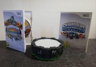 Portal y juegos Skylanders para Wii
