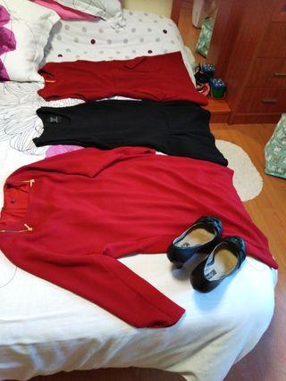 vestidos + zapatos de regalo