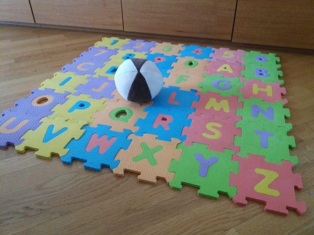 Alfombra puzzle infantil