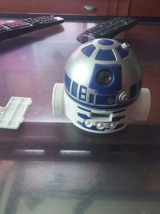 Reloj Despertador holagrafico R2-D2