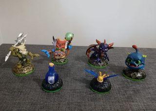 6 Figuras de Skylanders