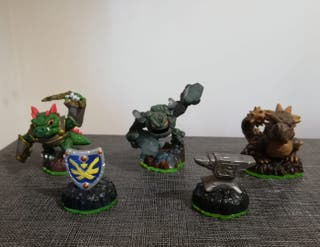 5 Figuras de Skylanders