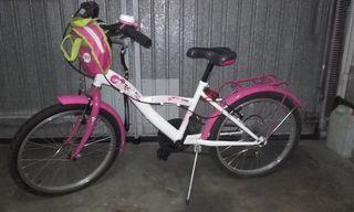 bicicleta niña 20 pulgadas