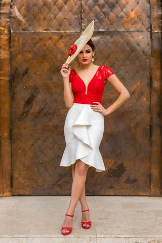 Vestido Martia de la firma Silvia Navarro