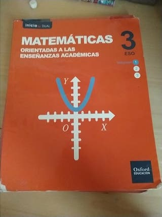 Libro Matemáticas Orientadas A Las Enseñanzas Acad