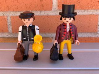 Playmobil banqueros del oeste